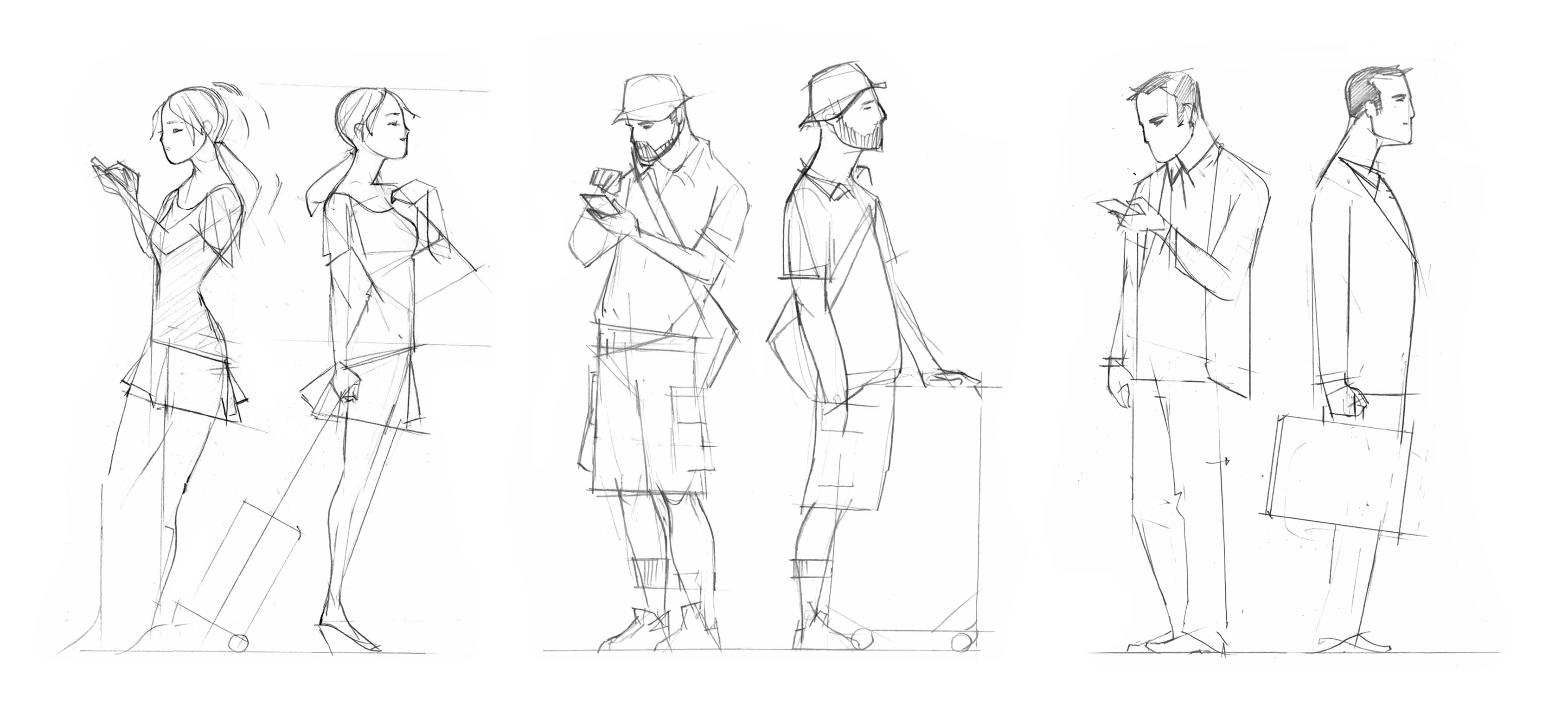 DouaneApp_Character-Sketches